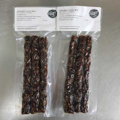 DRIED METTWURST SALAMI STICKS/mild