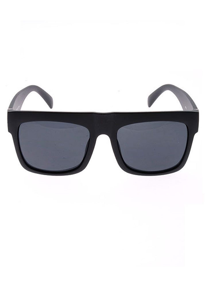 My Muse Flat Top Black Sunglasses