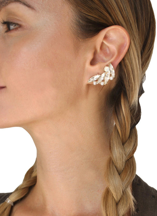 Olivia Jeweled Ear Cuff