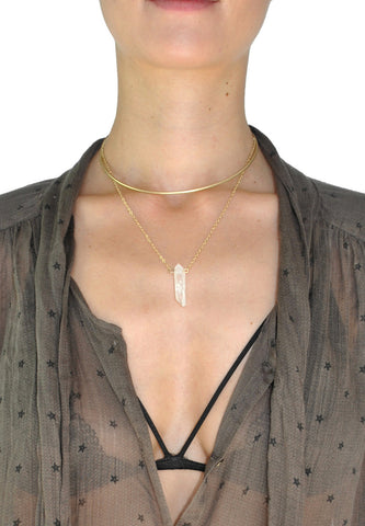 Peyton Long Natural Stone Necklace