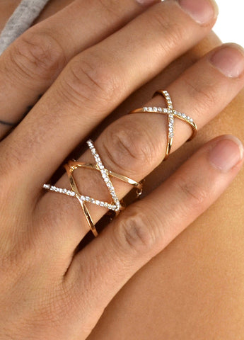 Willow Crystal Ring