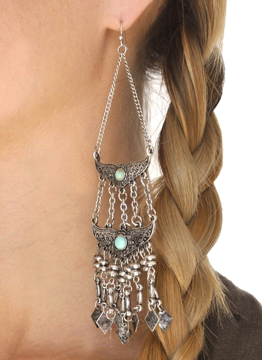 Skye Boho Chandelier Earrings