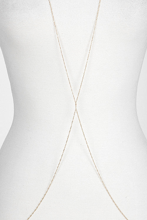 Simple Criss Cross Body Chain
