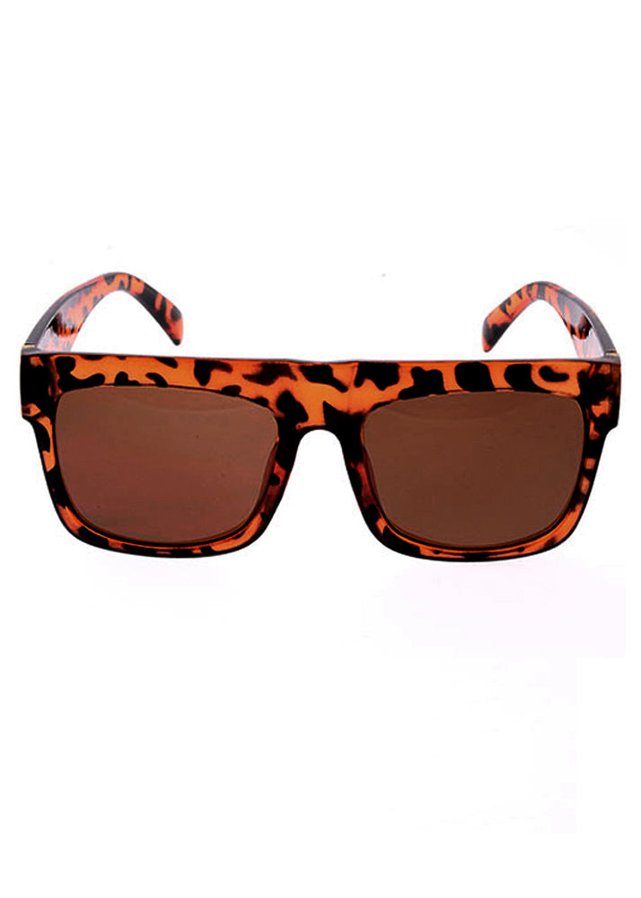 My Muse Flat Top Sunglasses Tortoiseshell