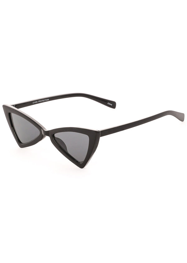 Electric Dreams Black Cat Eye Sunglasses