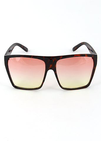 Tiny Oval Mirrored Sunglasses