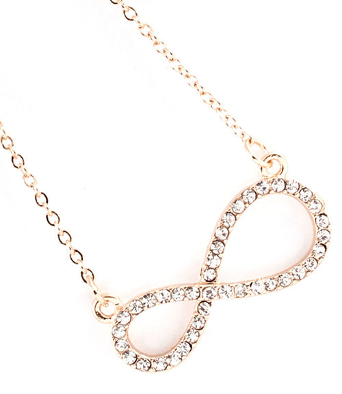 Forever Infinity Crystal Necklace