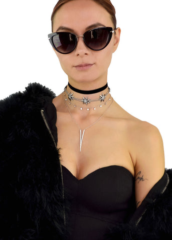 Buckle Up Choker Necklace