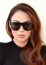 Pamela Shield Sunglasses Black