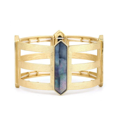 Bohemian Caged Cuff Bracelet