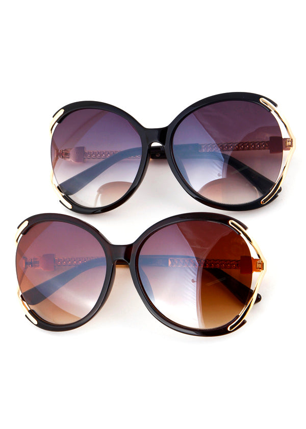 Donna Lux Oversized Sunglasses
