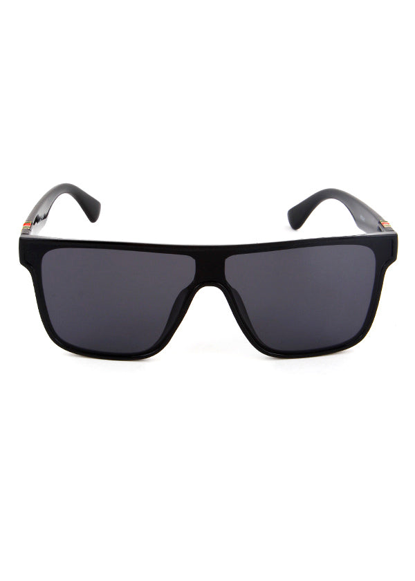 Florence Flat Top Shield Sunglasses