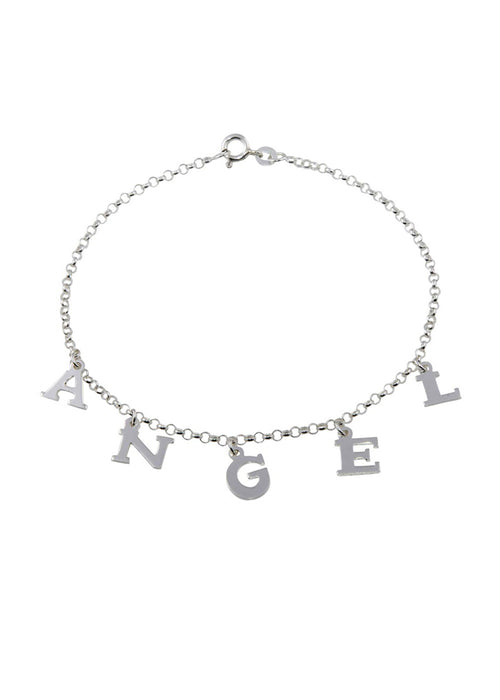 ANGEL Sterling Silver Anklet