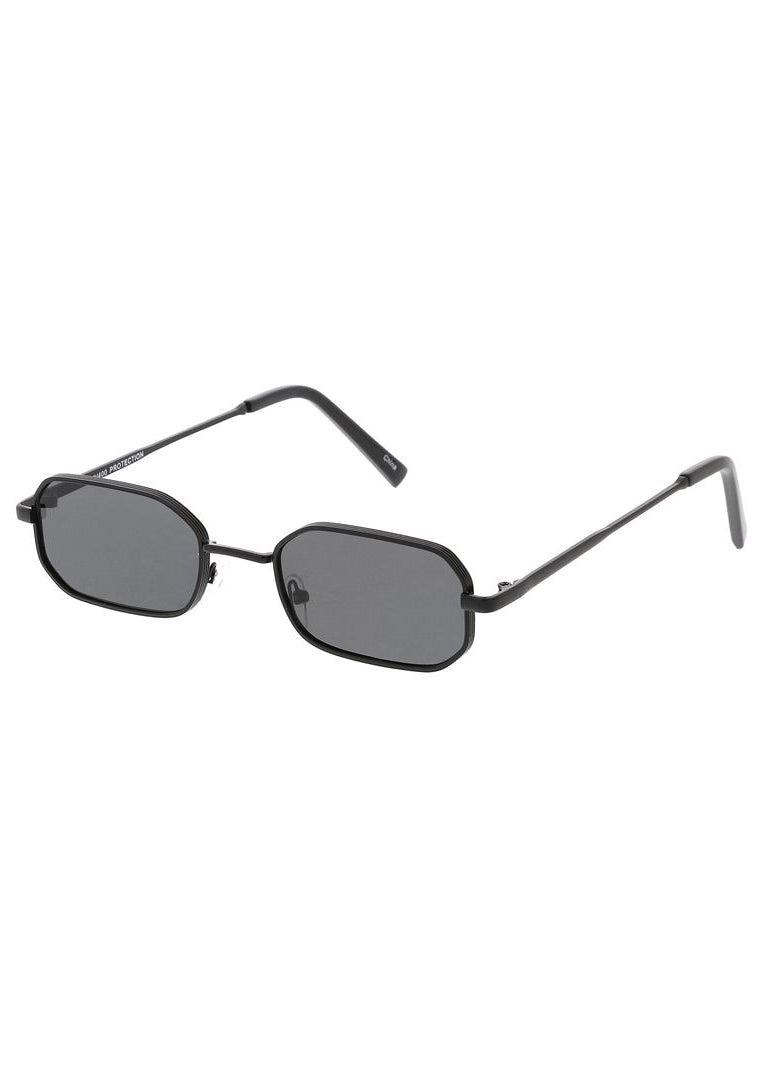 Tiny Rectangle Sunglasses - Black