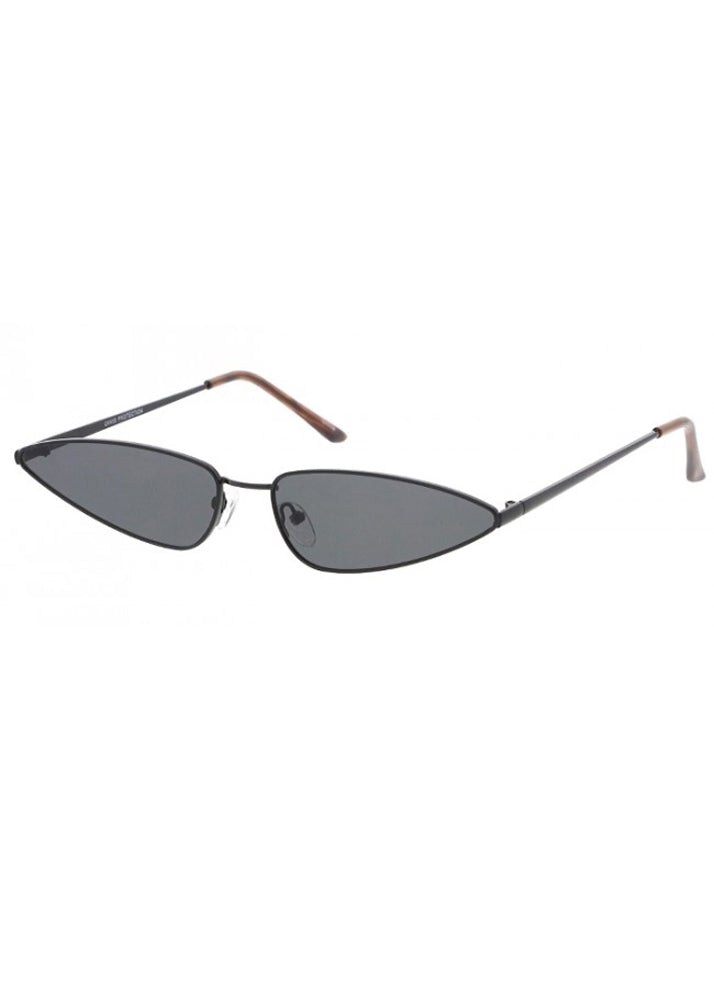 Slim Metal Cateye Frames - Black