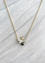 Dainty Bumble Bee Necklace