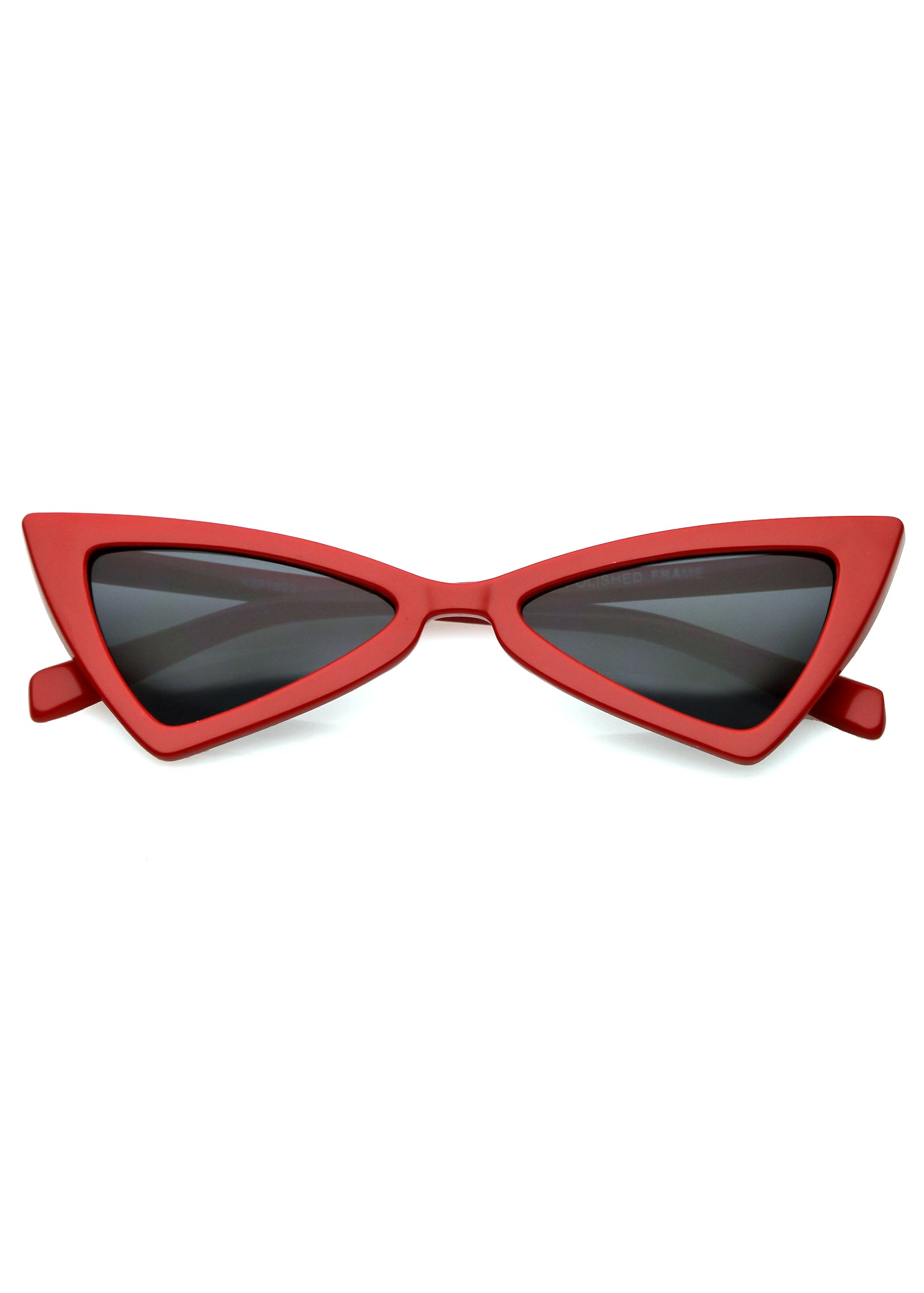 Electric Dreams Cat Eye Sunglasses - Red