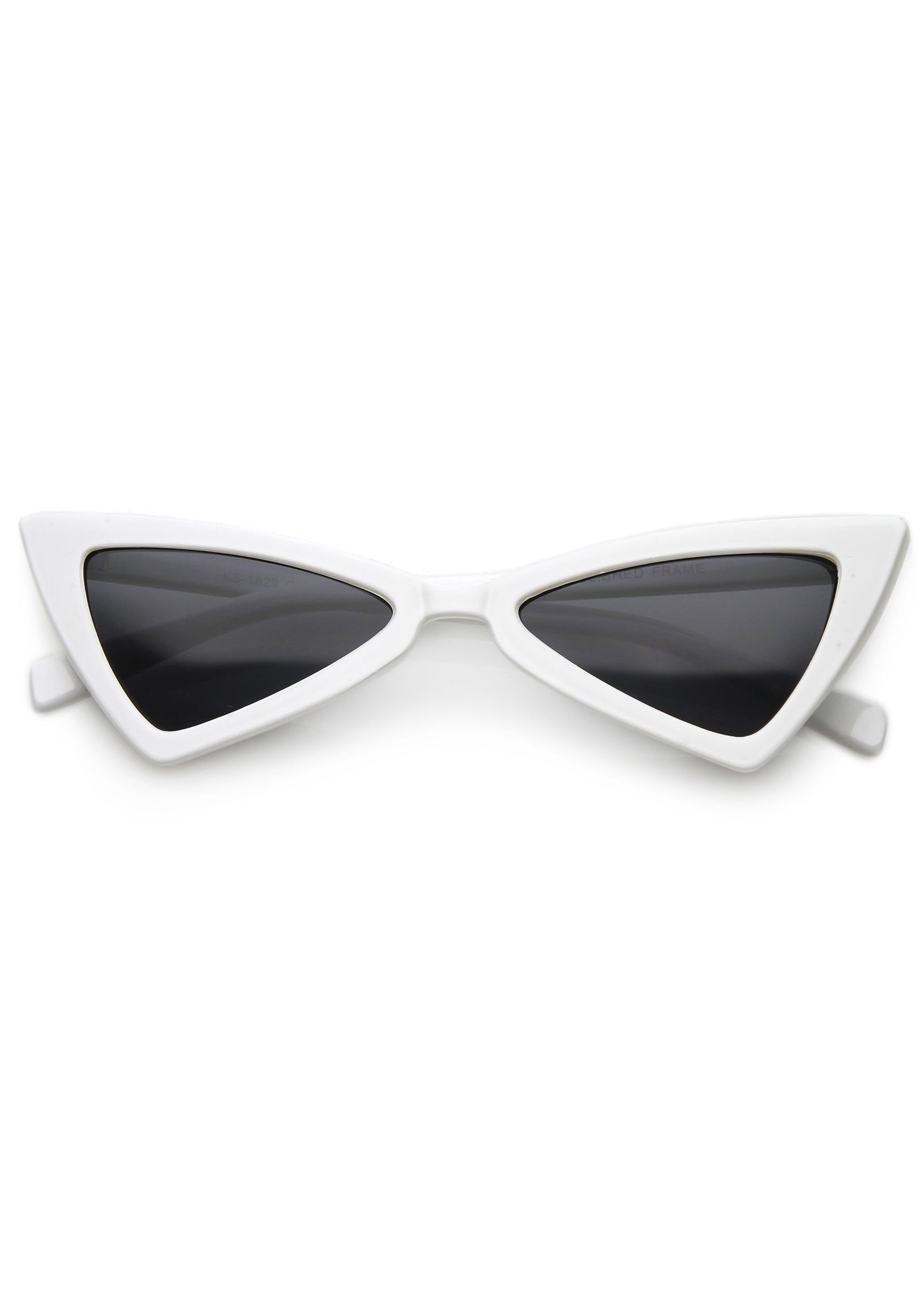 Electric Dreams Cat Eye Sunglasses - White