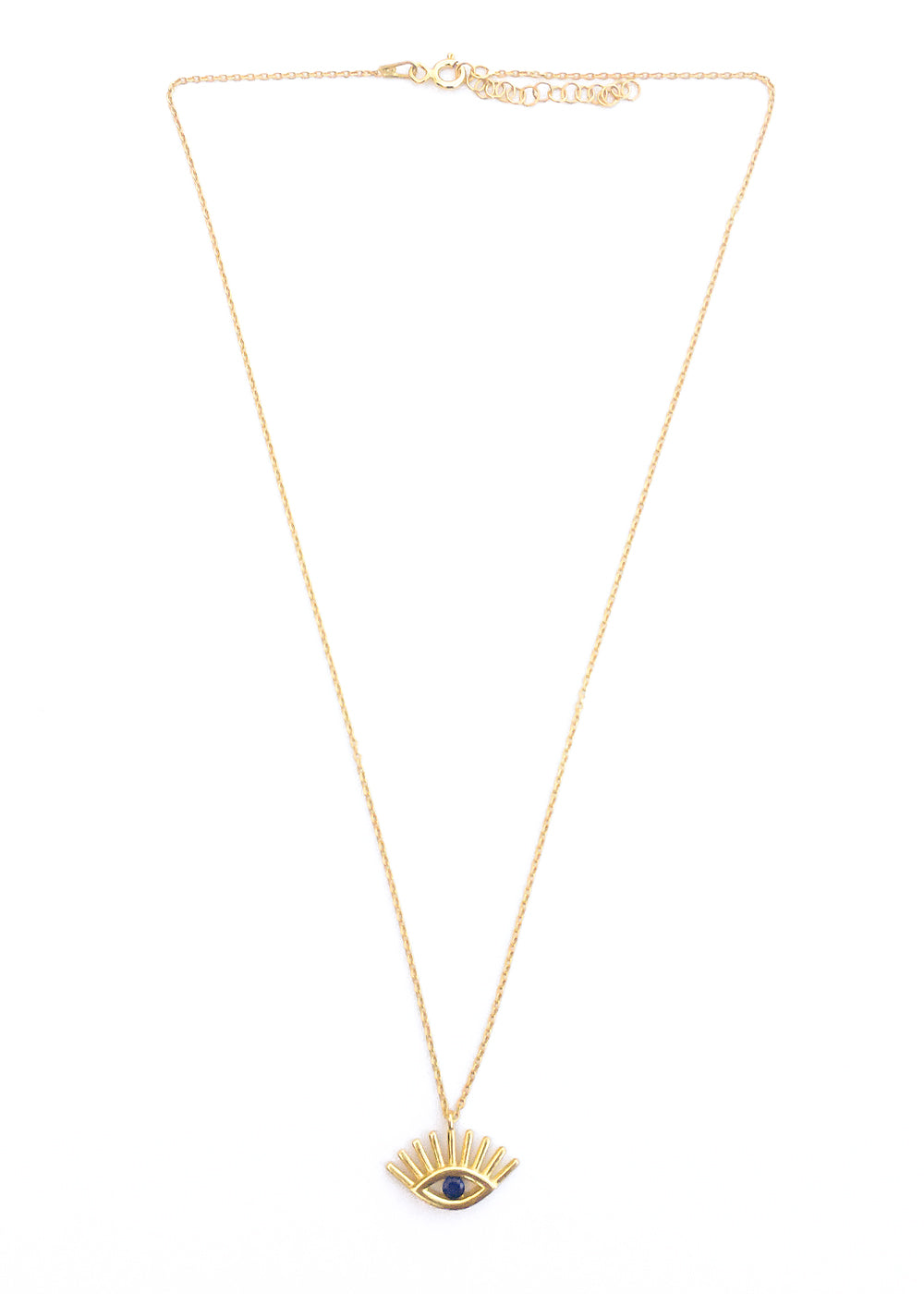 All Eyes On You Gold Necklace