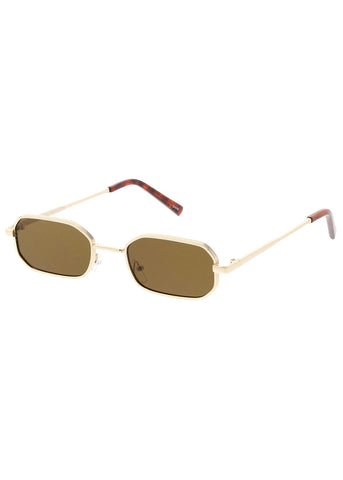 Thin Retro Cat Eye Sunglasses