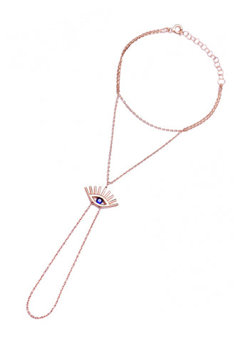 Dainty Crystal Butterfly Necklace