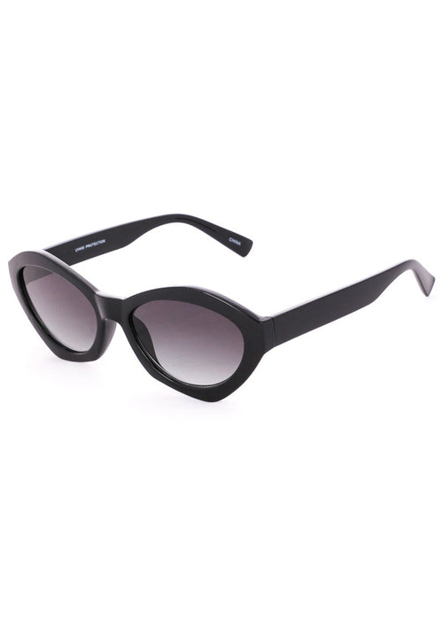 Milan Geometric Spectrum Sunglasses - Black