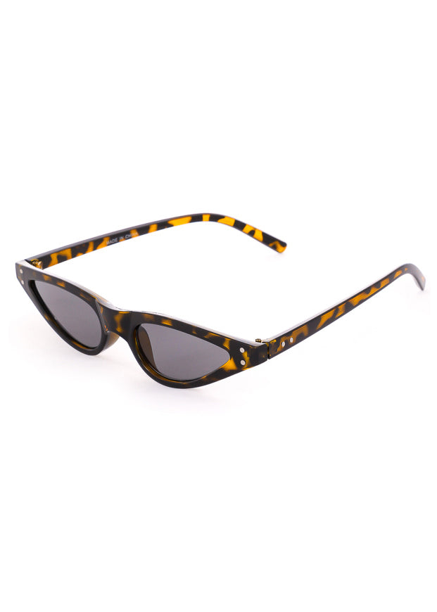 Mojave Skinny Cat Eye Sunglasses