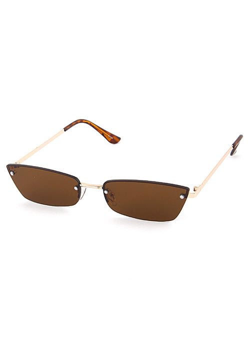 PARIS Frame Brown Gold