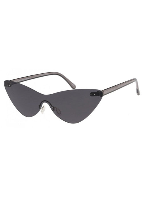 Electro Rimless Cateye Sunglasses - Black