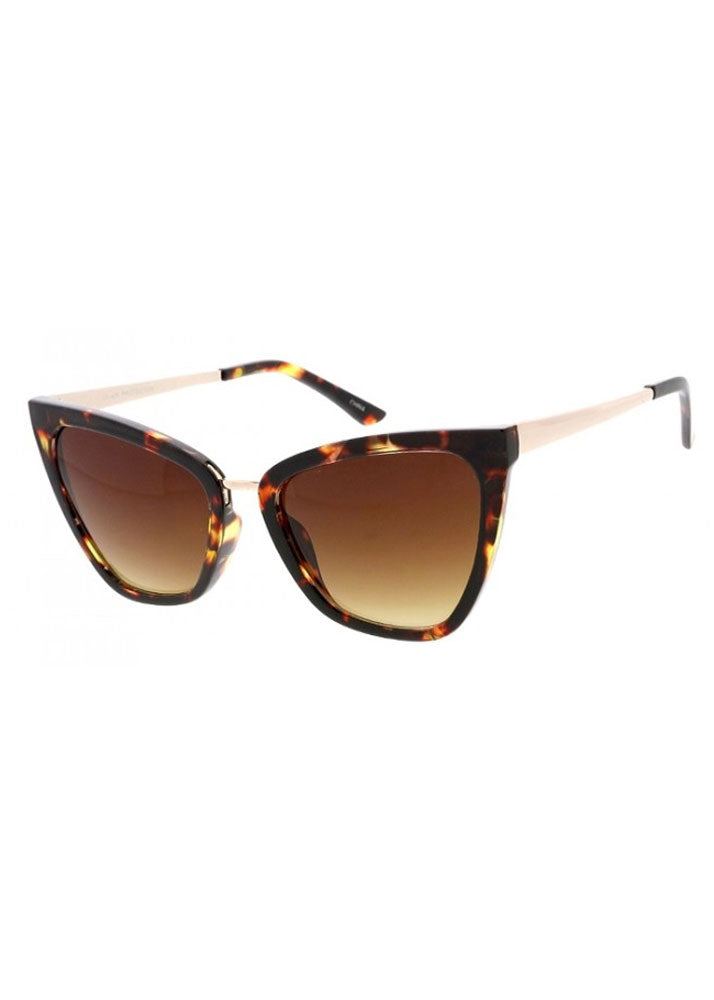 Gigi Cat Eye Sunglasses Tortoiseshell