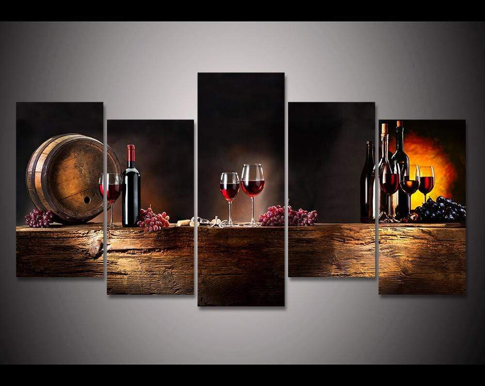 Wine Canvas Collection