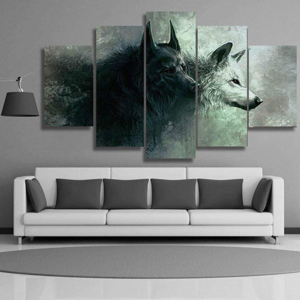 Wolf Canvas Paintings