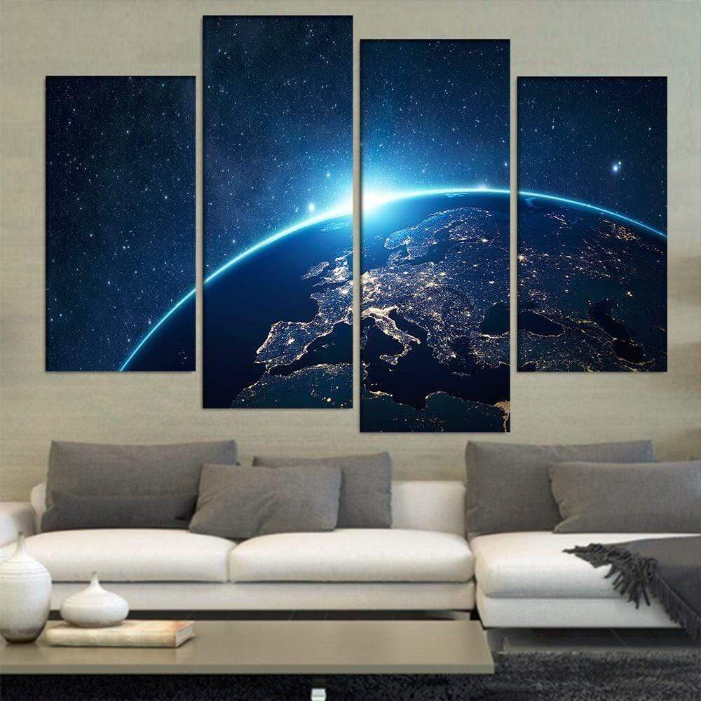 Space Astronomy Canvas Collection