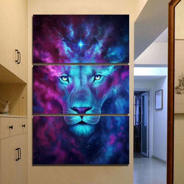 Lion Canvas Paintings