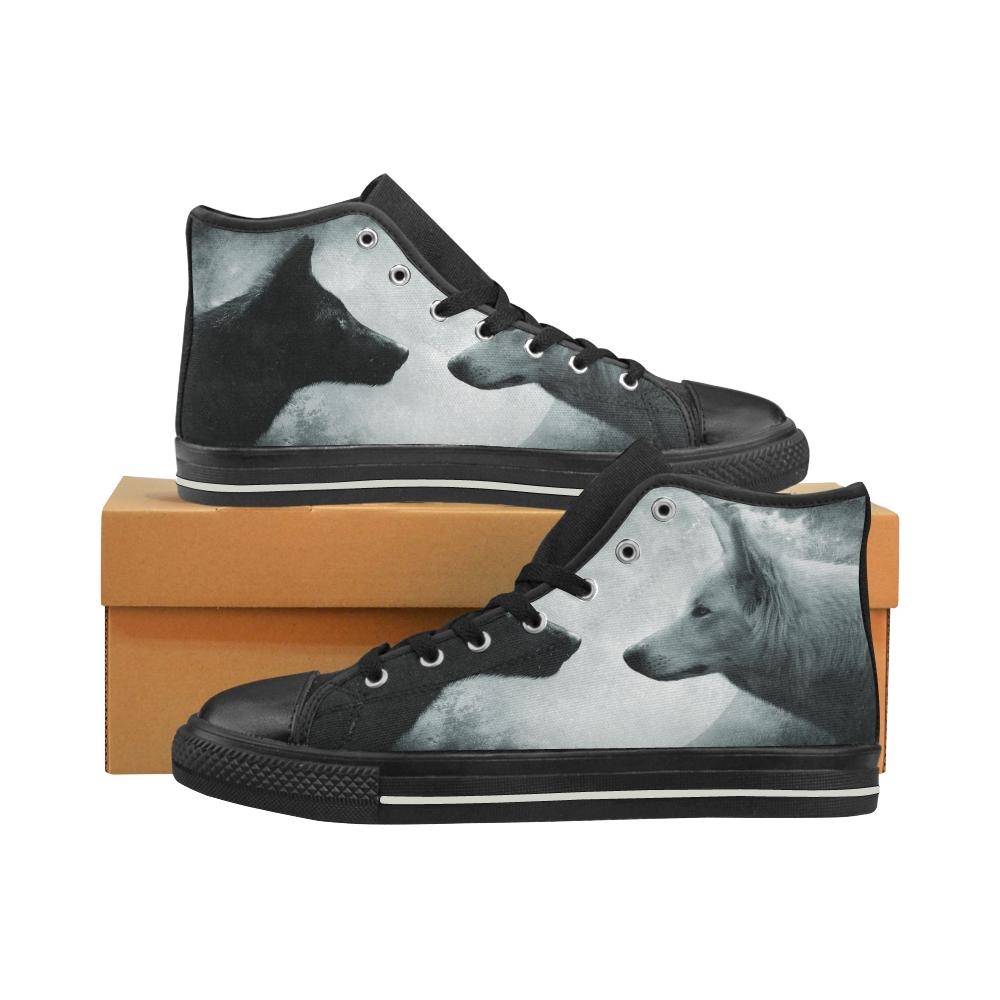 Wolf High Top Shoes