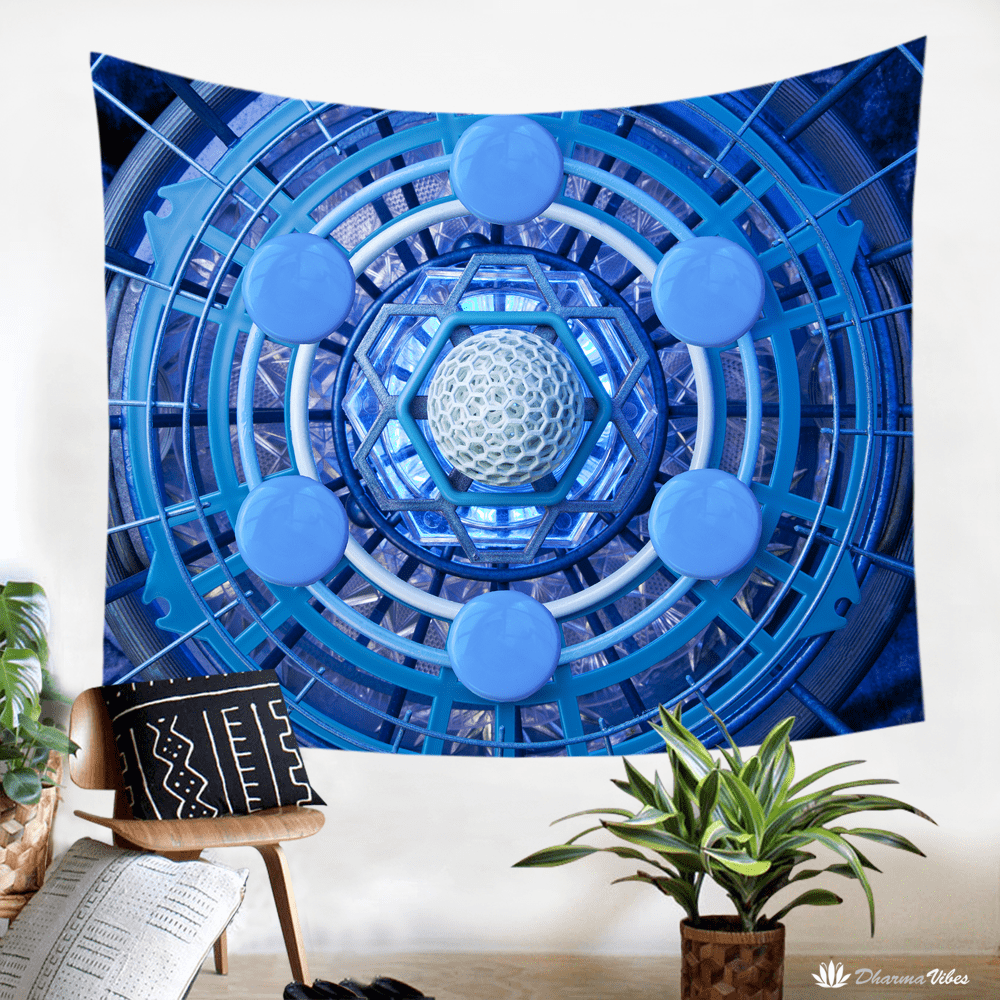 6D by LightWizard Visionary Tapestry