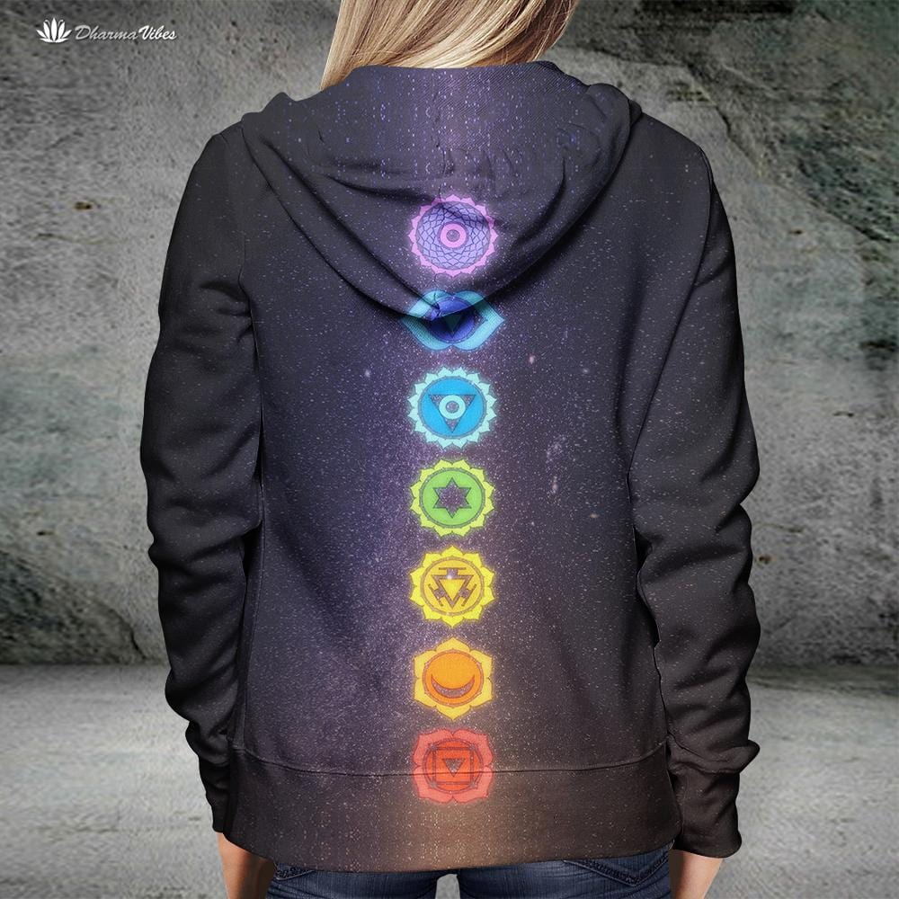 7 Chakras by McAshe Hoodie