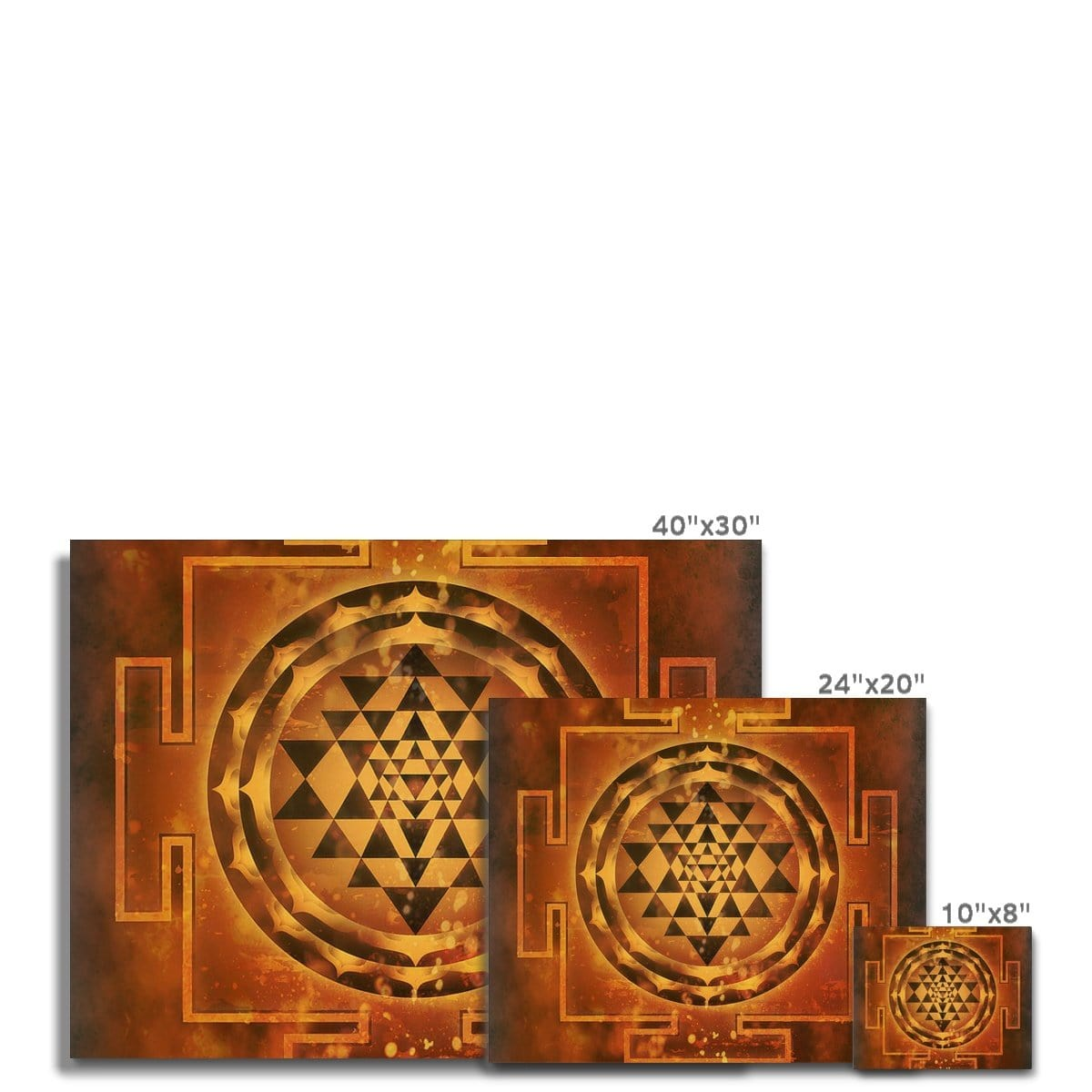 SriYantra Canvas