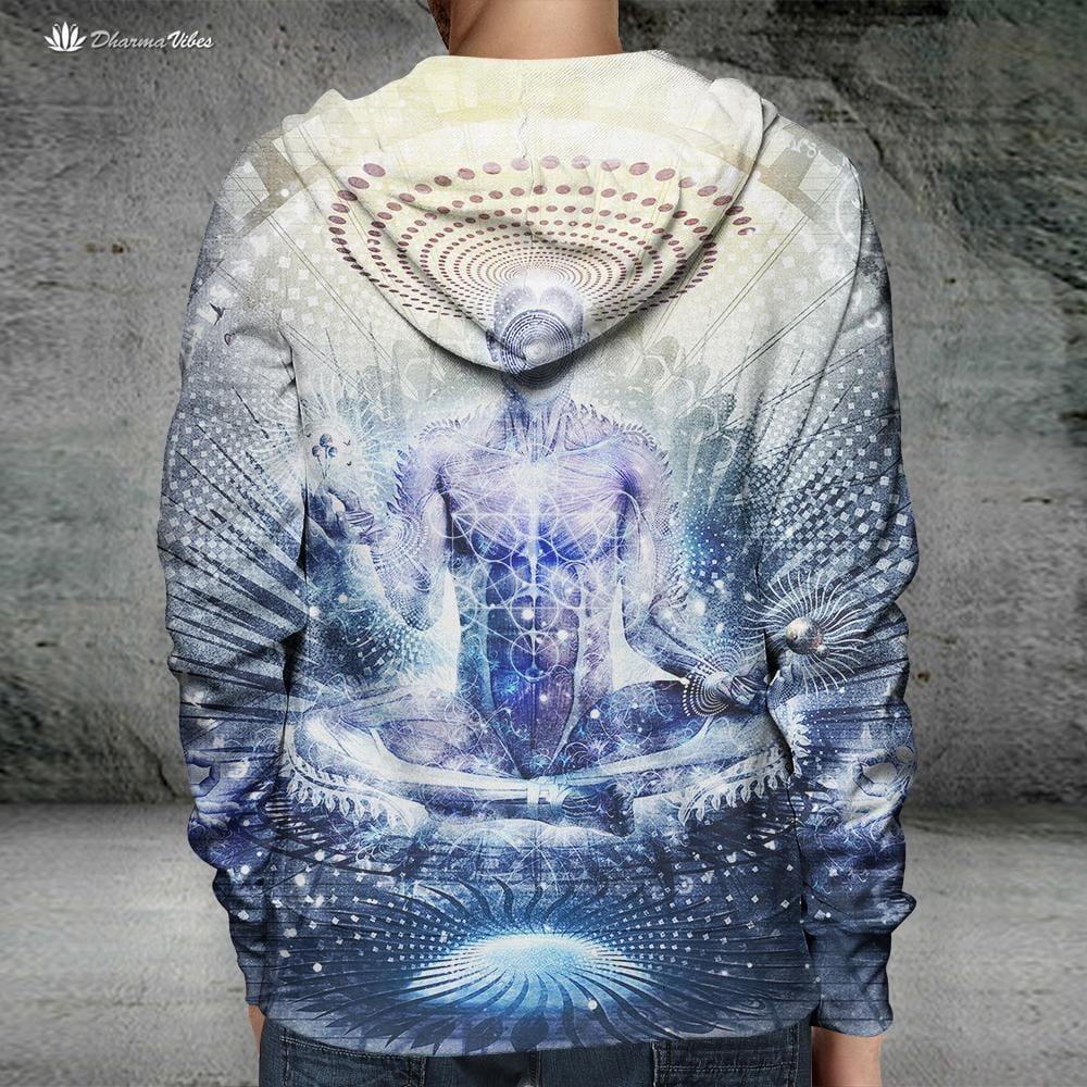 Awake Could Be So Beautiful by Cameron Gray Visionary Hoodie