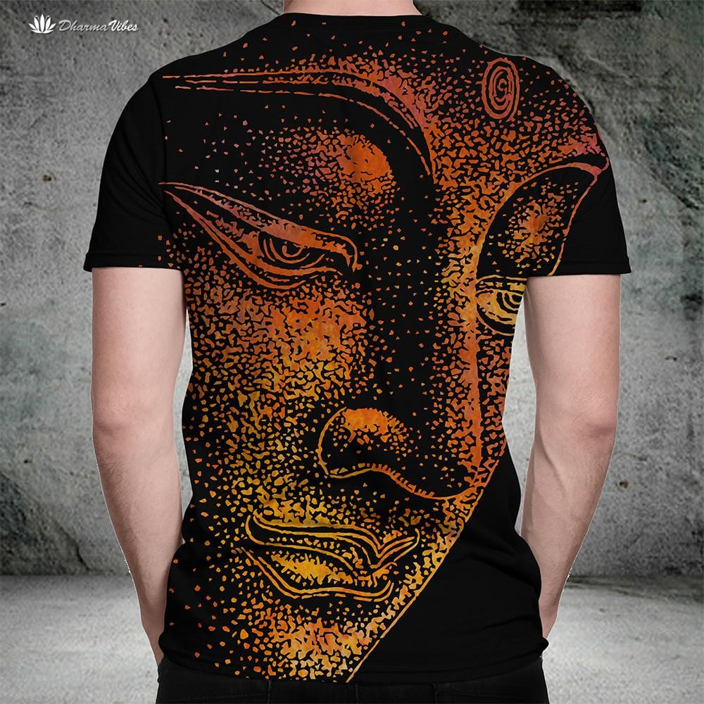 Buddha Illuminated by McAshe Yoga T-Shirt