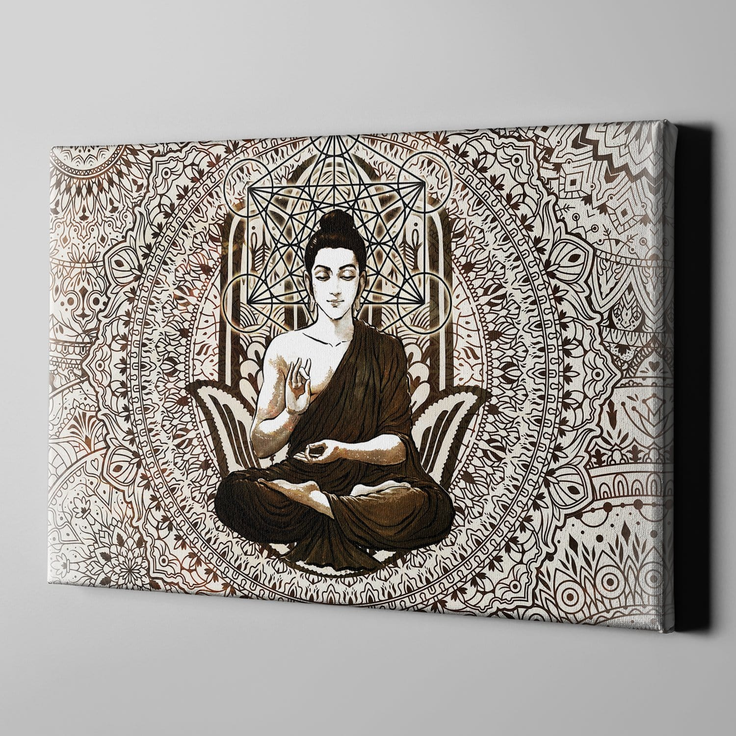 Buddha Sacred by McAshe 1-Piece Canvas Art