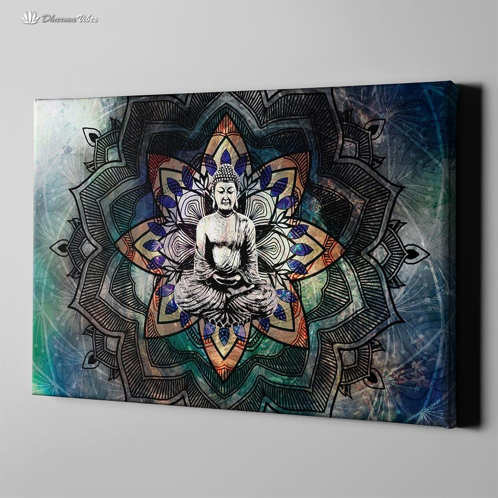Buddha Unity by McAshe 1-Piece Canvas