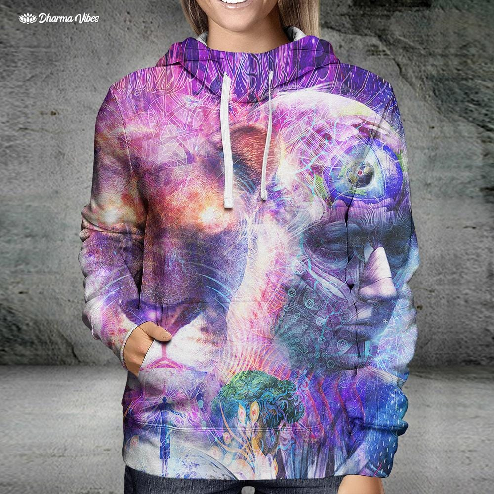 The Beauty of it All by Cameron Gray Visionary Hoodie