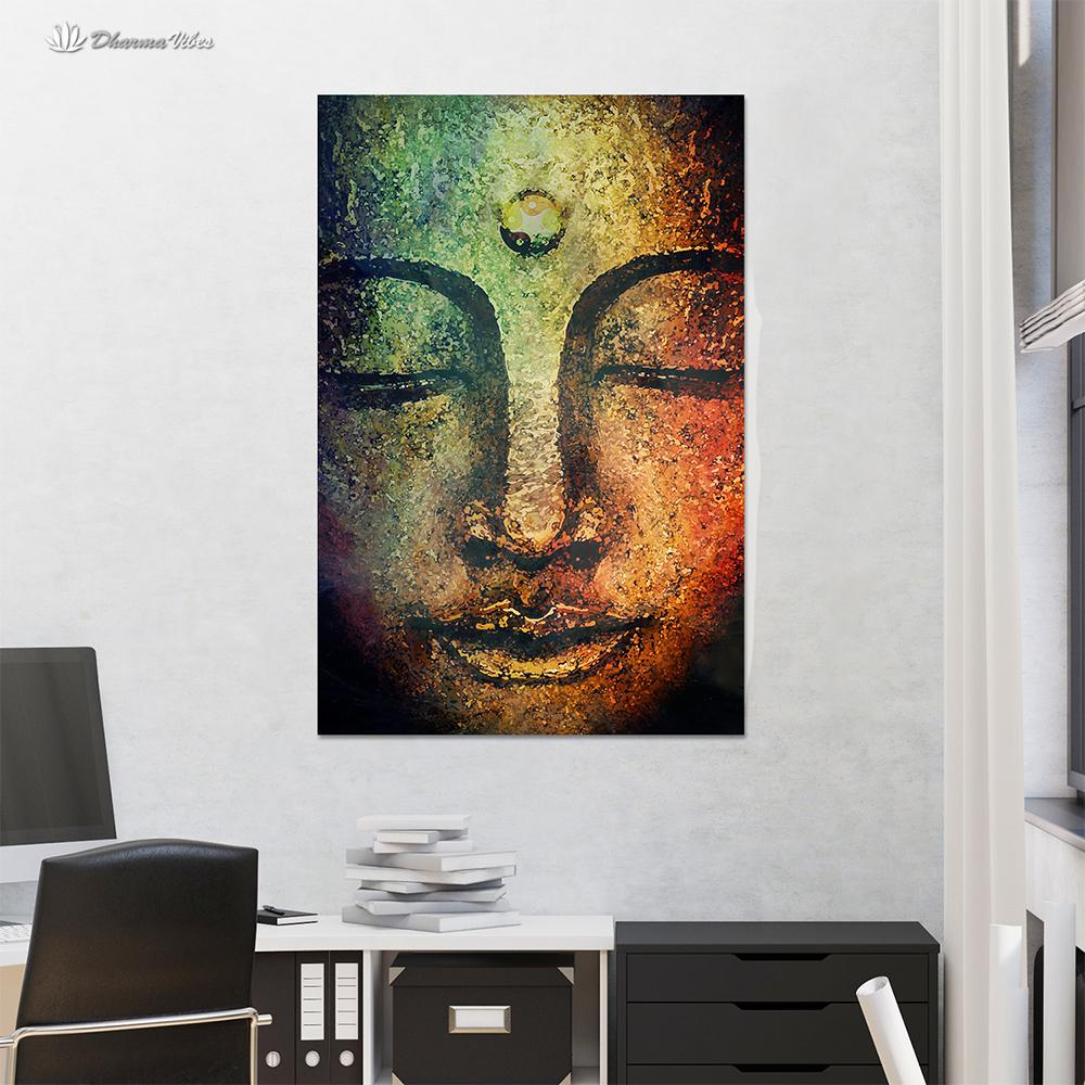 Buddha Serenity by McAshe 1-Piece Canvas Art