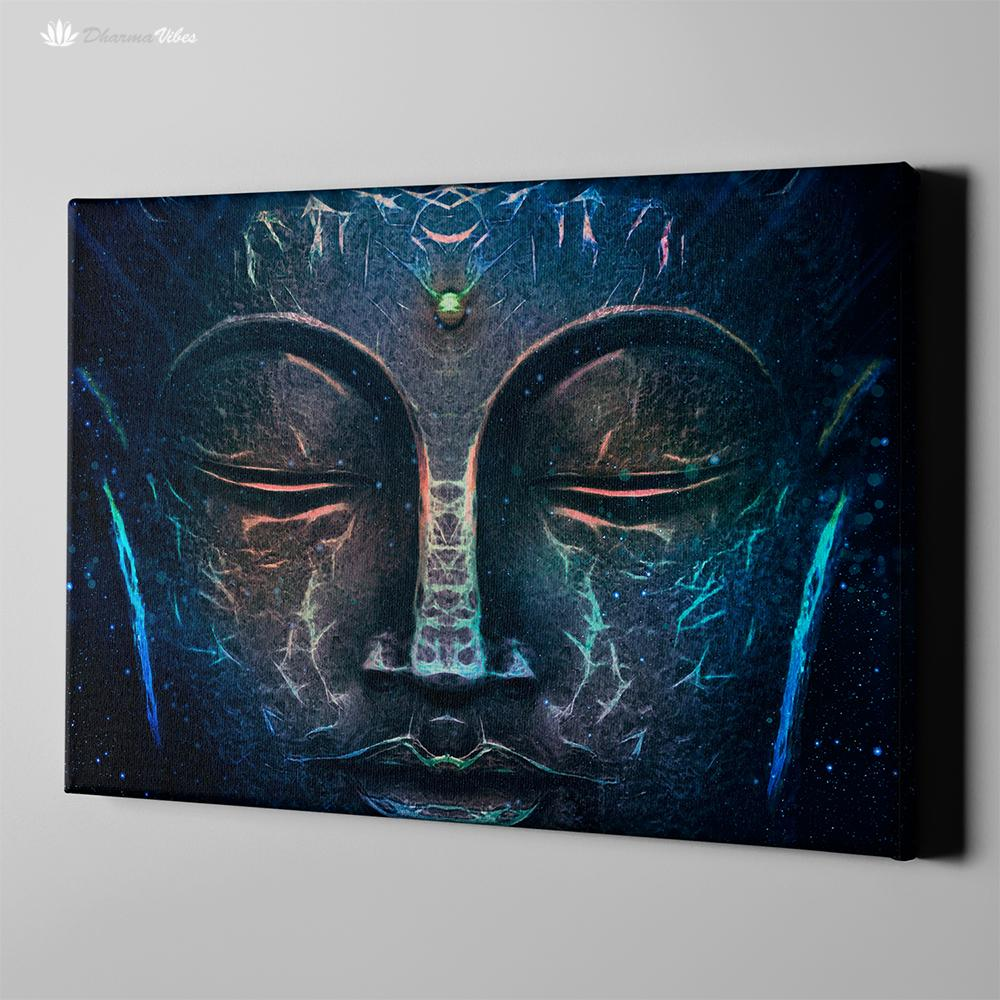 Buddha Wisdom by McAshe 1-Piece Canvas Art