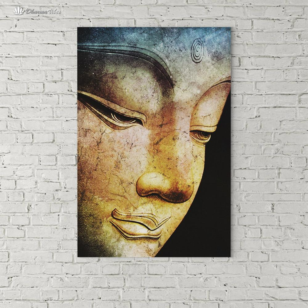 Buddha Bliss by McAshe 1-Piece Canvas Art