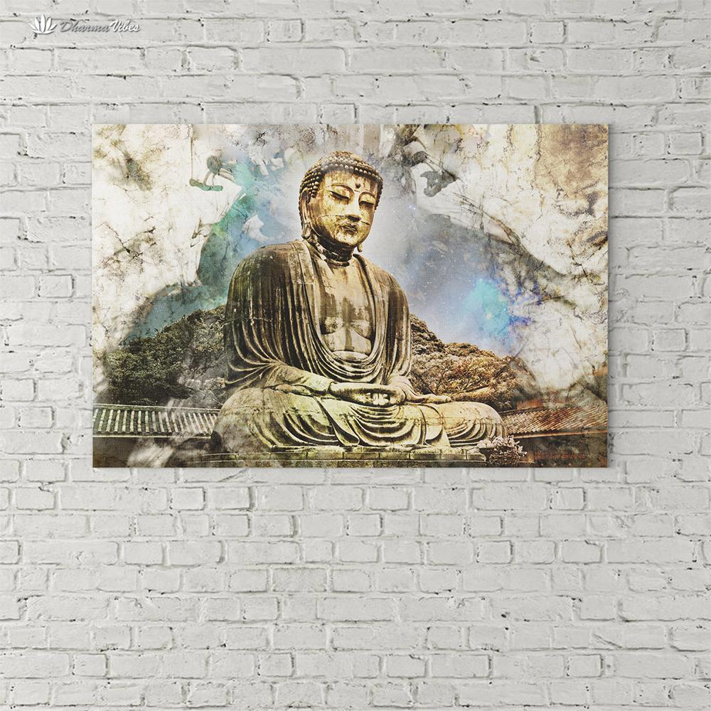 Buddha Enlightened by McAshe 1-Piece Canvas Art