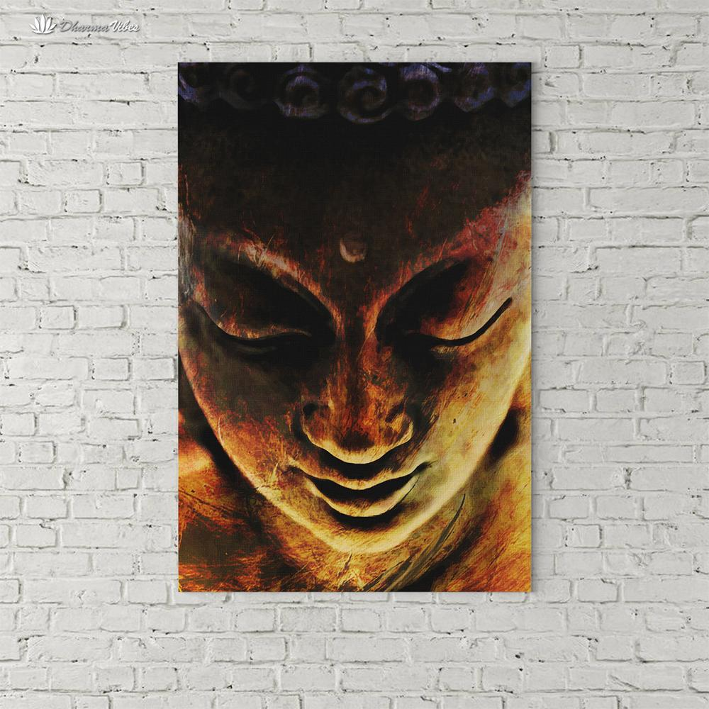 Buddha Nirvana by McAshe 1-Piece Canvas Art