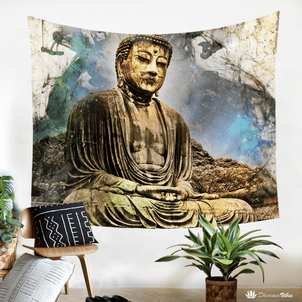 Buddha Tapestry by McAshe