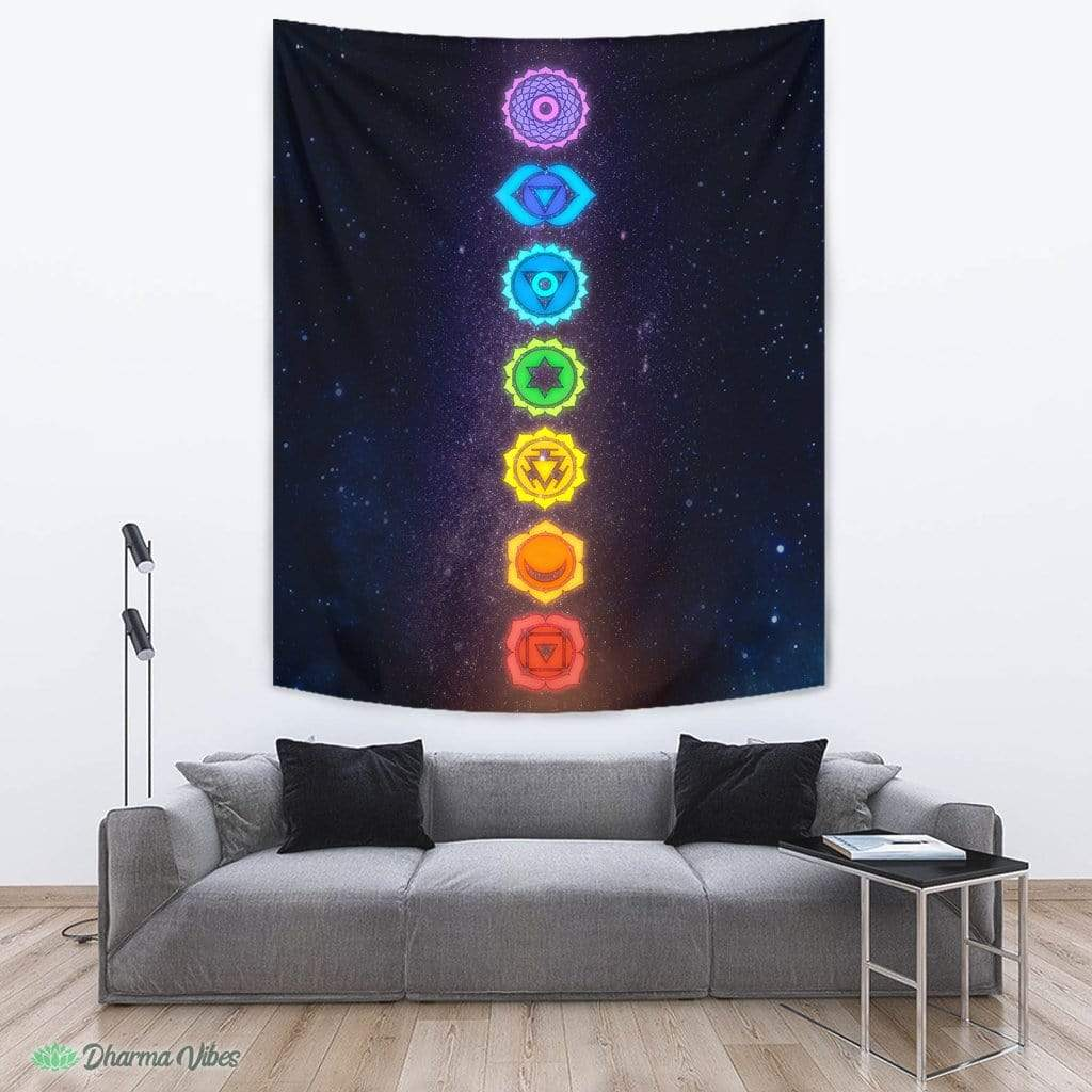 7 Chakras by McAshe Tapestry